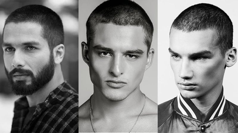 Buzz Cut Collage