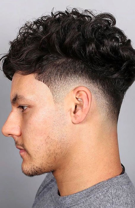 Drop Fade with Curls