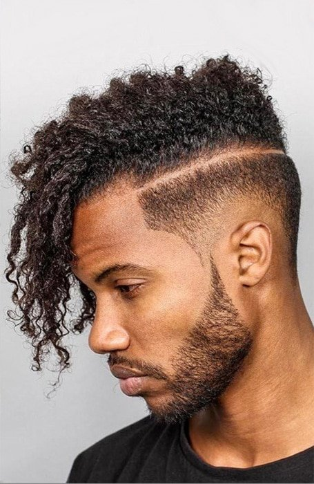 High Taper Fade Afro