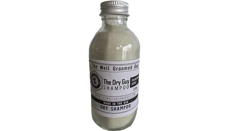 The Well Groomed Guy - El champú Dry Guy